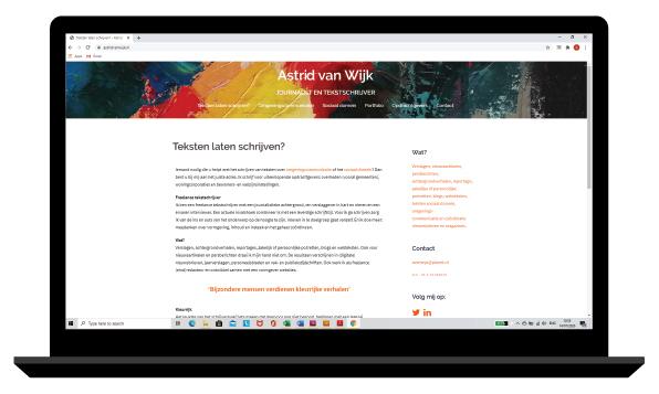 website Astrid van Wijk