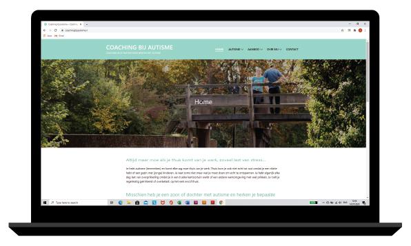 website Coaching bij Autisme